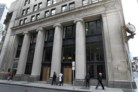 Walgreens will open the 24,000-square-foot store this fall in the building that once housed the Boston Five Cents Savings Bank.